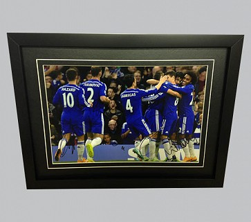 Chelsea Multi Player Signed Colour Photo