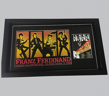 Franz Ferdinand Signed Music Collectible