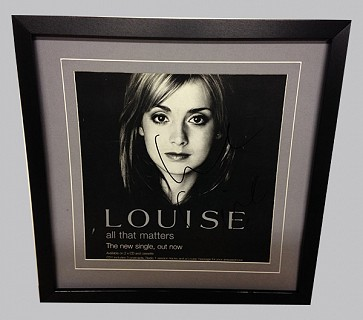 Louise Redknapp Signed Photograph