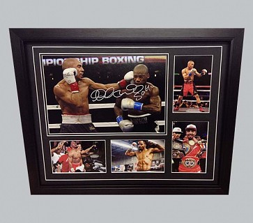 Andre Ward Signed Colour Photo + 4 Colour Photos