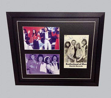 Brotherhood of Man Signed Music Collectible