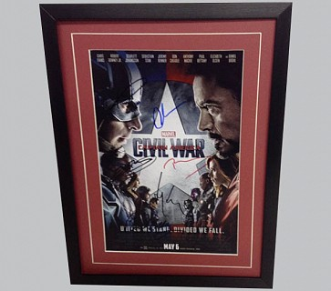 Captain America - Civil War Signed Poster