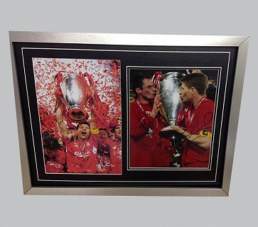 Liverpool Champions League Signed Photo