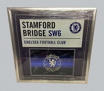 Chelsea Multi Player Signed Memorabilia
