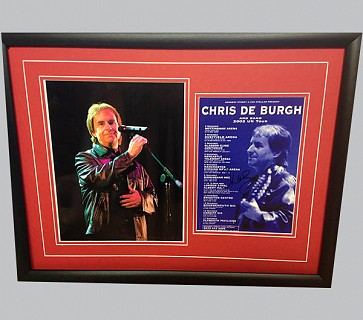 Chris de Burgh Signed Music Collectible