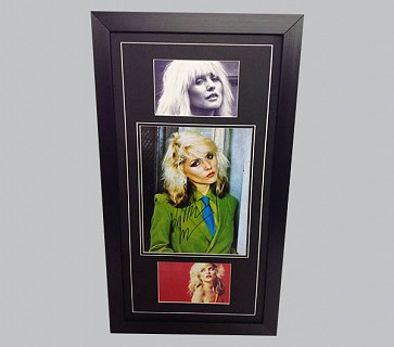 Debbie Harry Signed Colour Photo + 2 x Photos