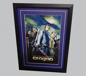 Eragon Poster Signed by Spencer Wilding