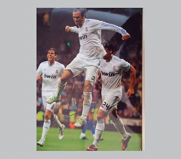 Carvahlo Signed Photo (Real Madrid)