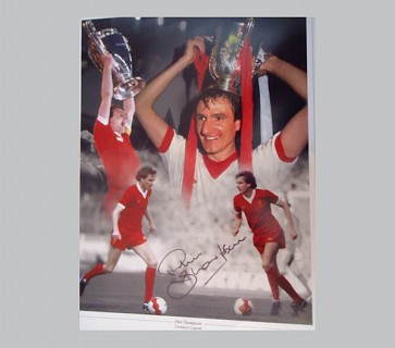 Phil Thompson Liverpool Football Memorabilia