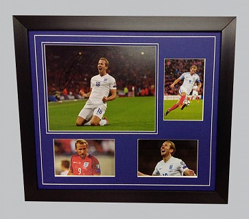Harry Kane Signed England Photo + 3 Photos