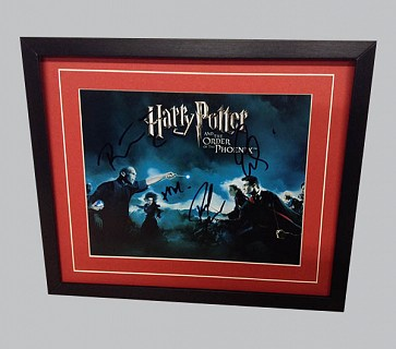 "Harry Potter ""The Order of The Phoenix"" Signed Poster"