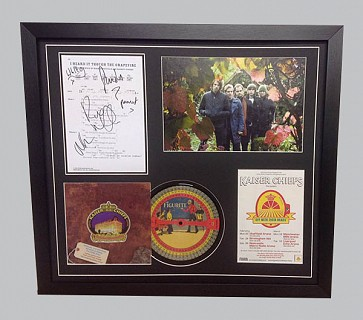 "Kaiser Chiefs ""I Heard It Through The Grapevine"" Signed Music Sheet + CD, Photo & Poster"
