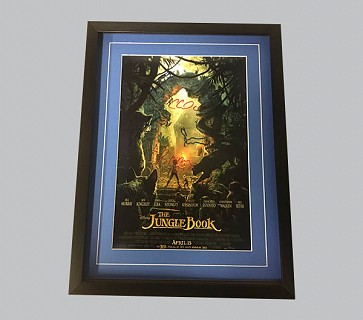 Jungle Book Signed Colour Poster