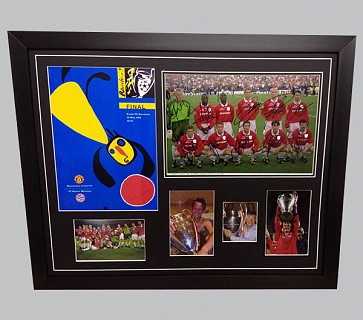 Manchester United 1999 Champions League Signed Memorabilia