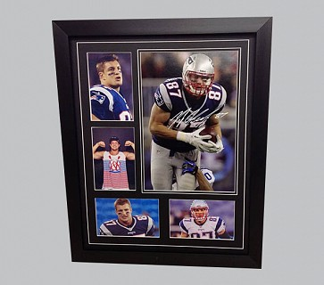 Rob Gronkowski Colour Photo Collection