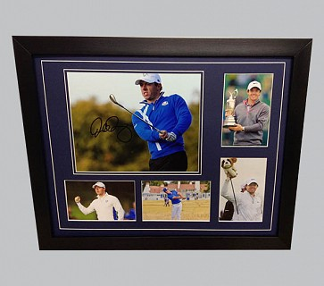 Rory McIlroy Signed Colour Photo + 4 Photos