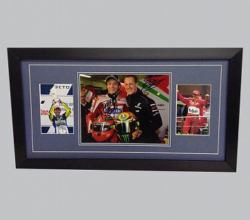 Schumacher & Rossi Signed Sports Memorabilia