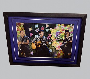 Scouting for Girls Signed Colour Photo