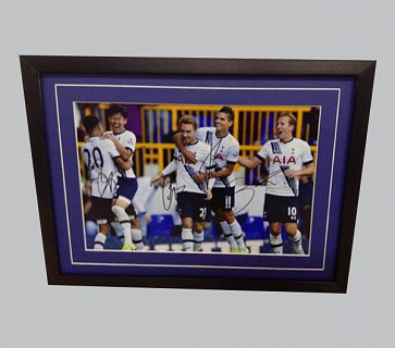 Tottenham Hotspur Signed Colour Photo