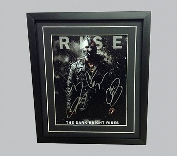 Batman - The Dark Knight Rises Signed Poster