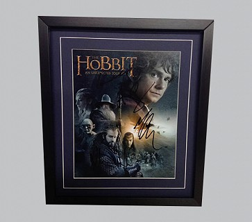 "Hobbit ""An Unexpected Journey"" Signed Poster"