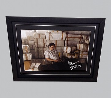 """Narcos"" Colour Photo Signed by Wagner Moura"